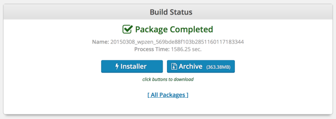 duplicator build status 690x246 - duplicator wordpress