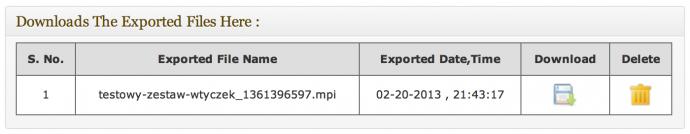 Multi Plugin Installer - plik MPI