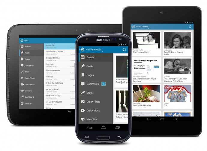 WordPress for Android 2.3