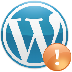 WordPress - błąd