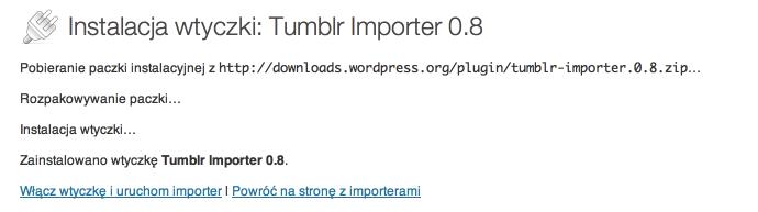 Tumblr - import