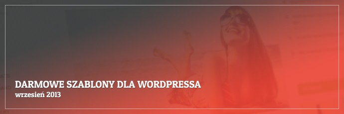 Darmowe szablony dla WordPressa