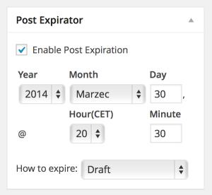 Post Expirator