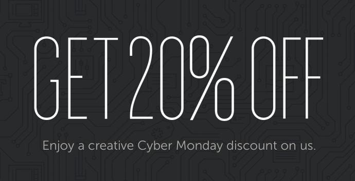 Creative Market - Cyber Monday