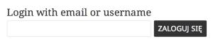 Passwordless Login - formularz