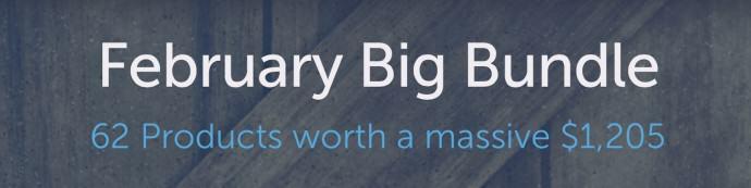 Creative Market February Big Bundle