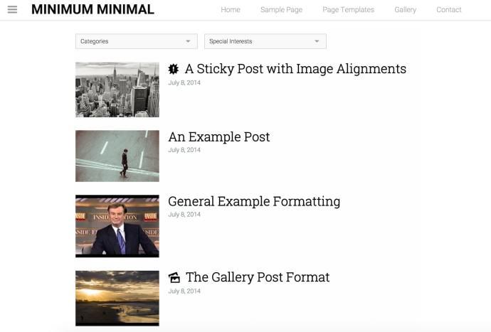 Minimum Minimal