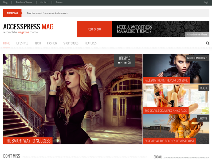 Accesspress Mag