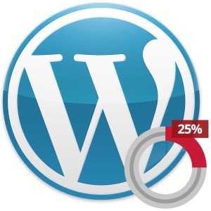 WordPress 25%