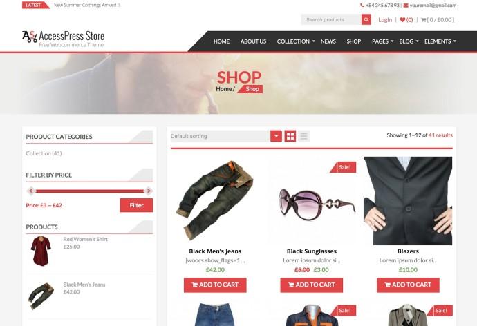 AccessPress Store