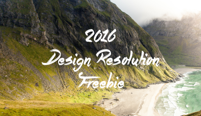 2016 Design Resolution