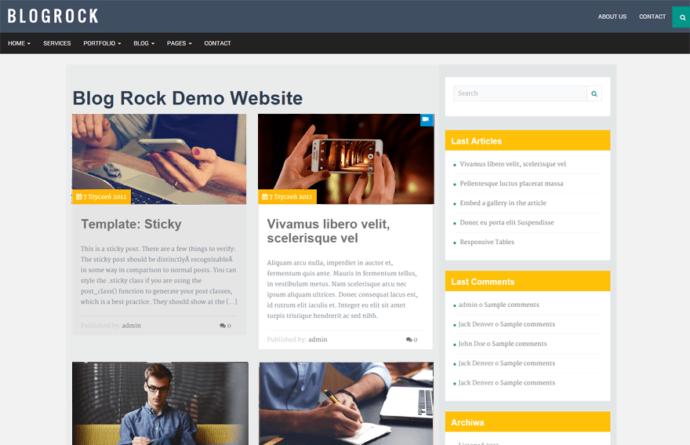 Blogrock Core