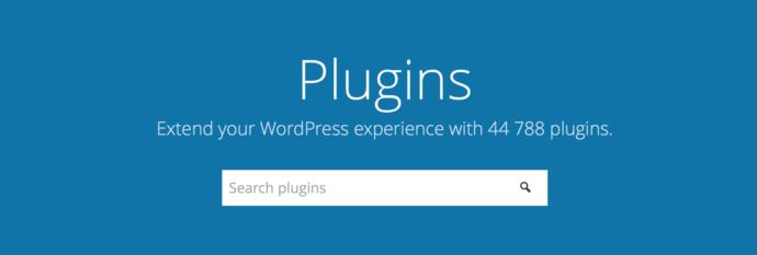 Nowe repozytorium wtyczek dla WordPressa