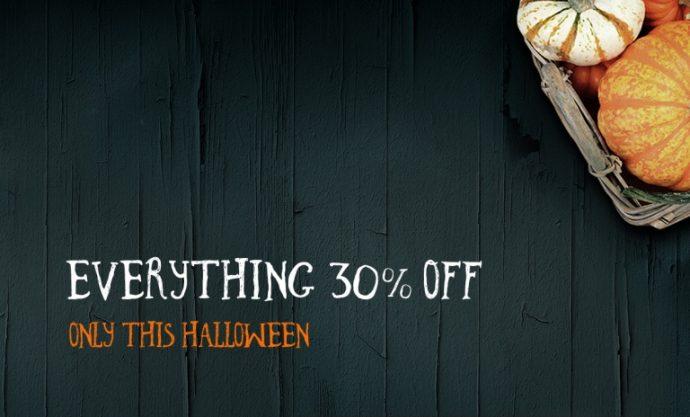 Halloweenowa promocja ThemeFuse
