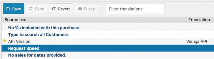 Loco Translate - edytor tłumaczeń