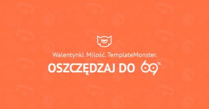 Walentynkowa promocja Template Monster
